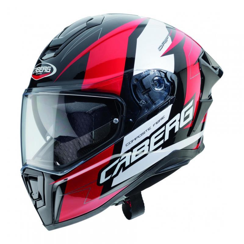 Casque intégral Caberg Drift Evo Speedster noir/rouge/blanc