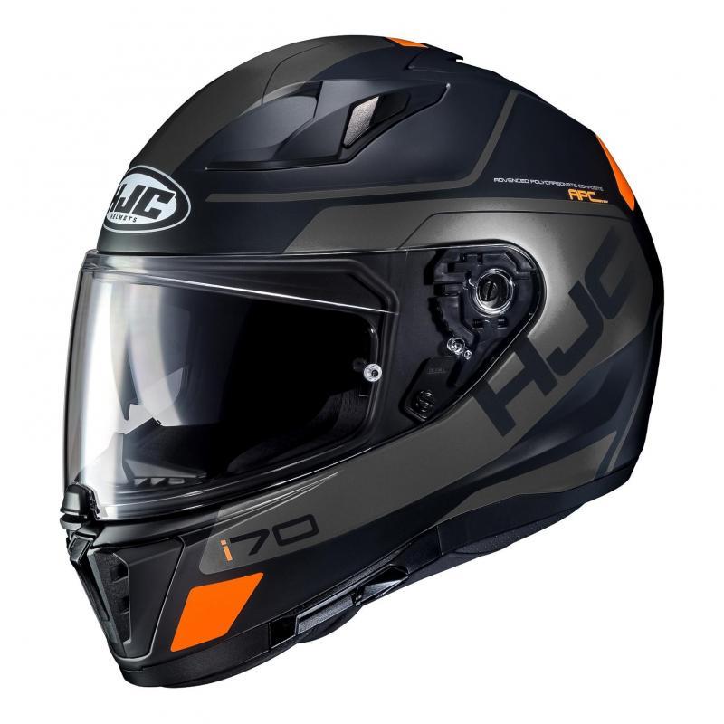 Casque intégral HJC I70 Karon noir/orange