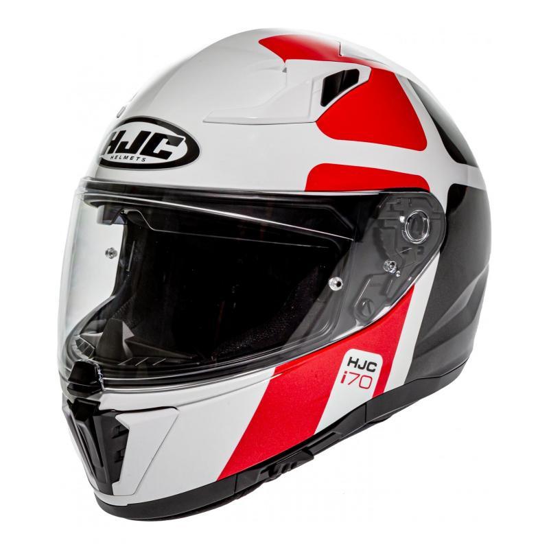 Casque intégral HJC i70 Prima MC1 blanc/rouge/noir