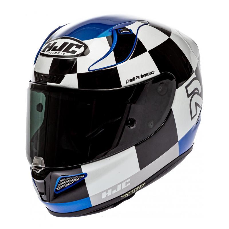 Casque intégral HJC RPHA 11 Misano MC2 noir/blanc/bleu