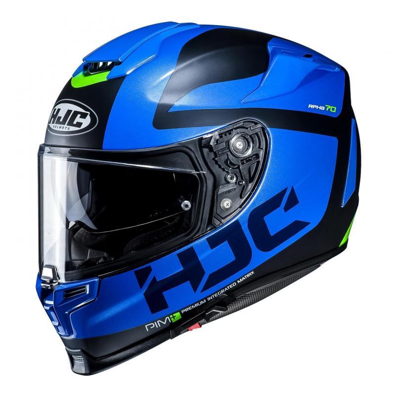 Casque intégral HJC RPHA 70 Balius bleu/noir/vert
