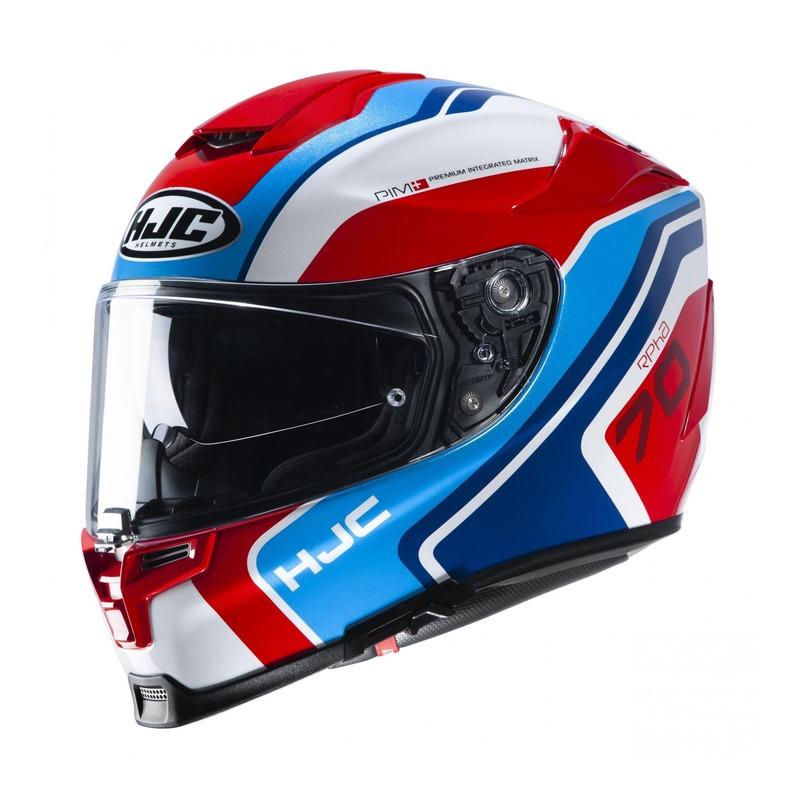Casque intégral HJC RPHA 70 Kroon MC21 bleu/blanc/rouge