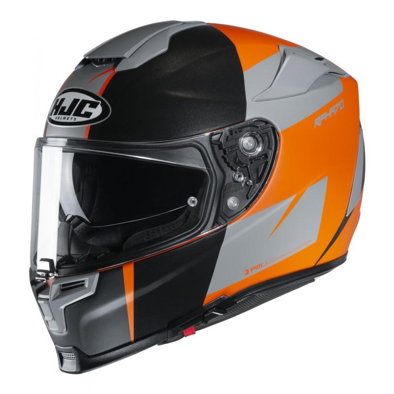 Casque intégral HJC RPHA 70 Terika noir/orange/gris