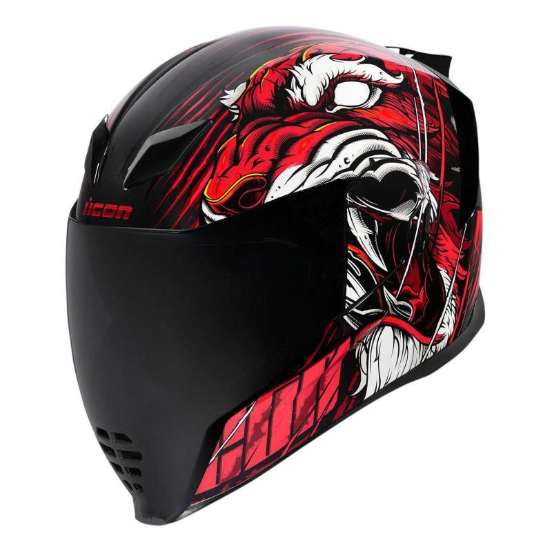 Casque intégral Icon Airflite Trumbull™ rouge