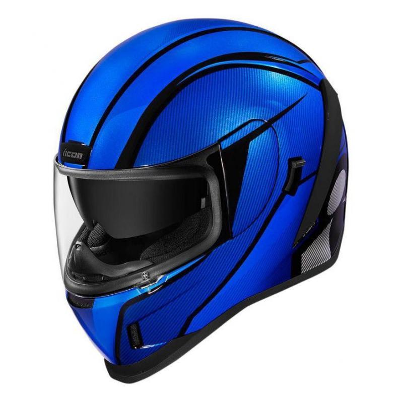 Casque intégral Icon Airform conflux bleu