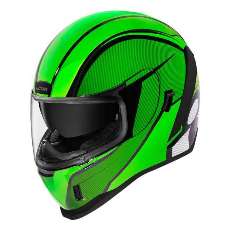 Casque intégral Icon Airform conflux green