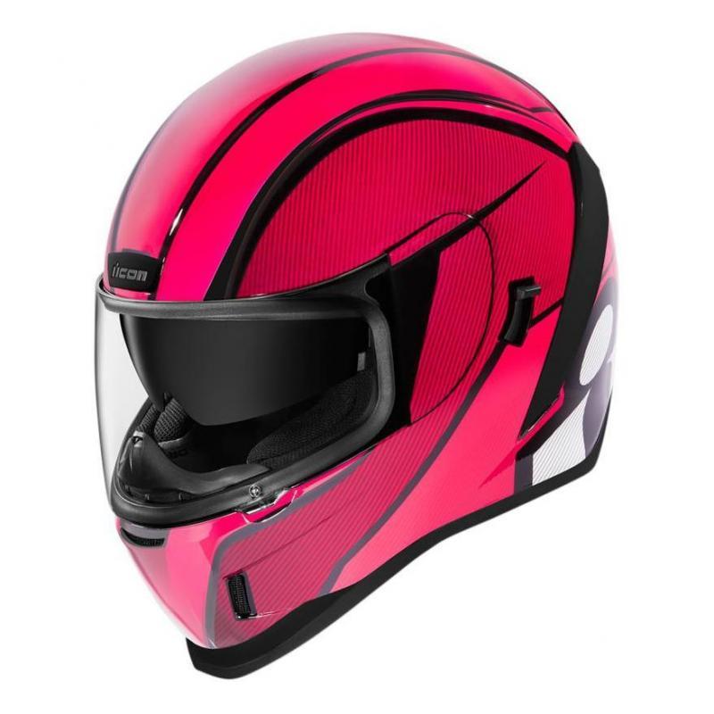 Casque intégral Icon Airform conflux pink