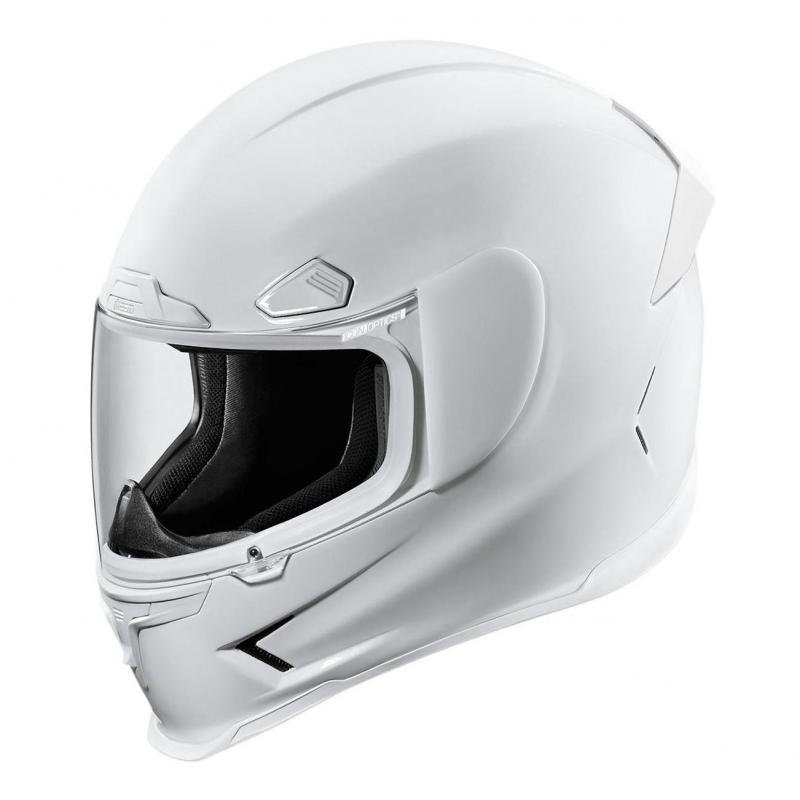 Casque intégral Icon Airframe Pro Gloss blanc