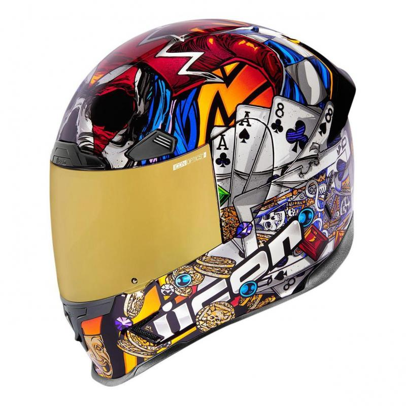 Casque intégral Icon Airframe Pro LuckyLid3™ GD