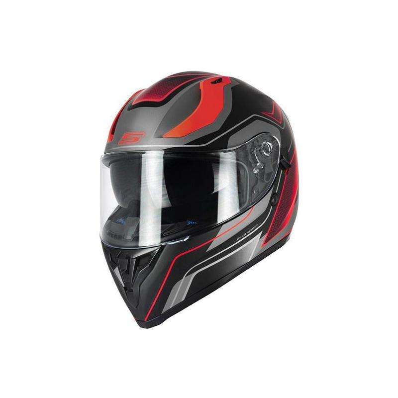 Casque intégral S-Line S441 Venge noir/rouge + pinlock