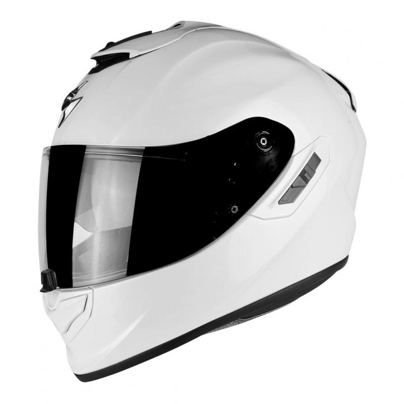 Casque intégral Scorpion EXO-1400 AIR SOLID blanc