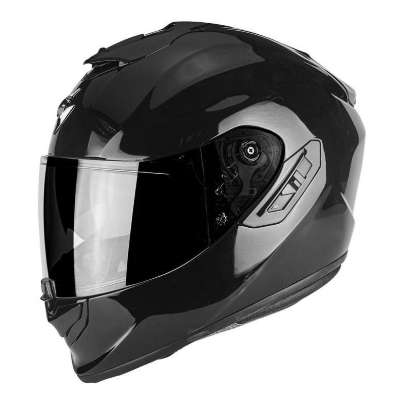 Casque intégral Scorpion EXO-1400 AIR SOLID noir