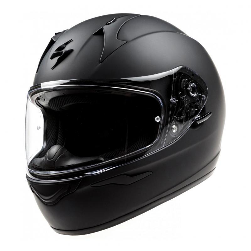 Casque intégral Scorpion EXO-390 noir mat