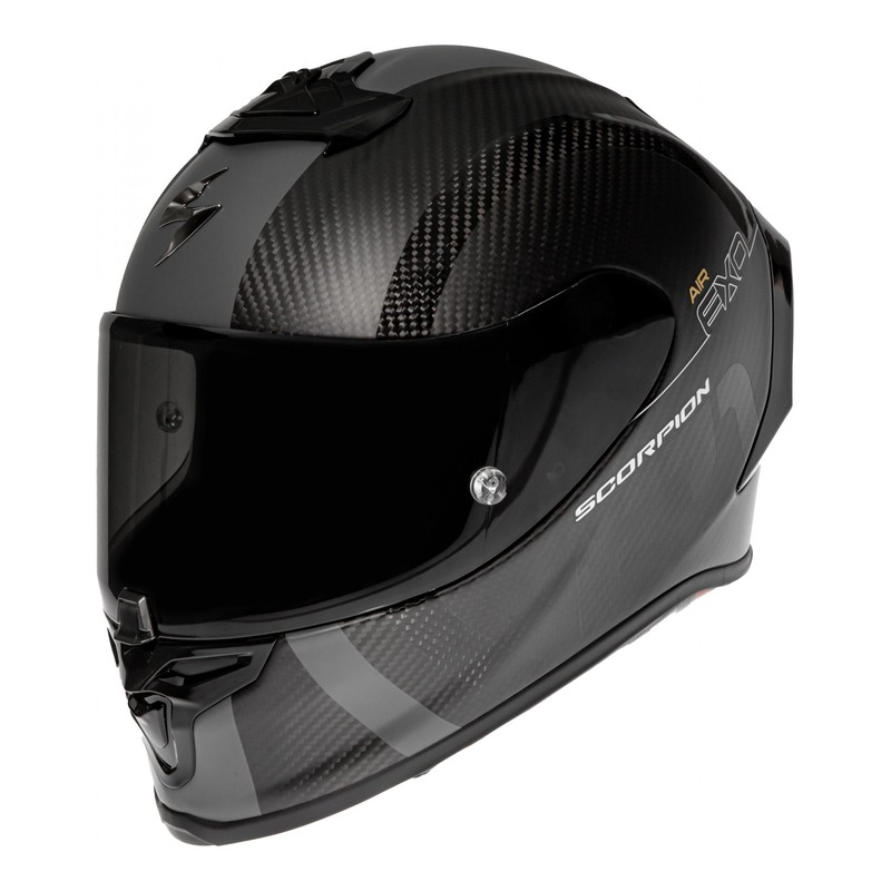 Casque intégral Scorpion EXO-R1 Carbon Air MG noir mat/argent