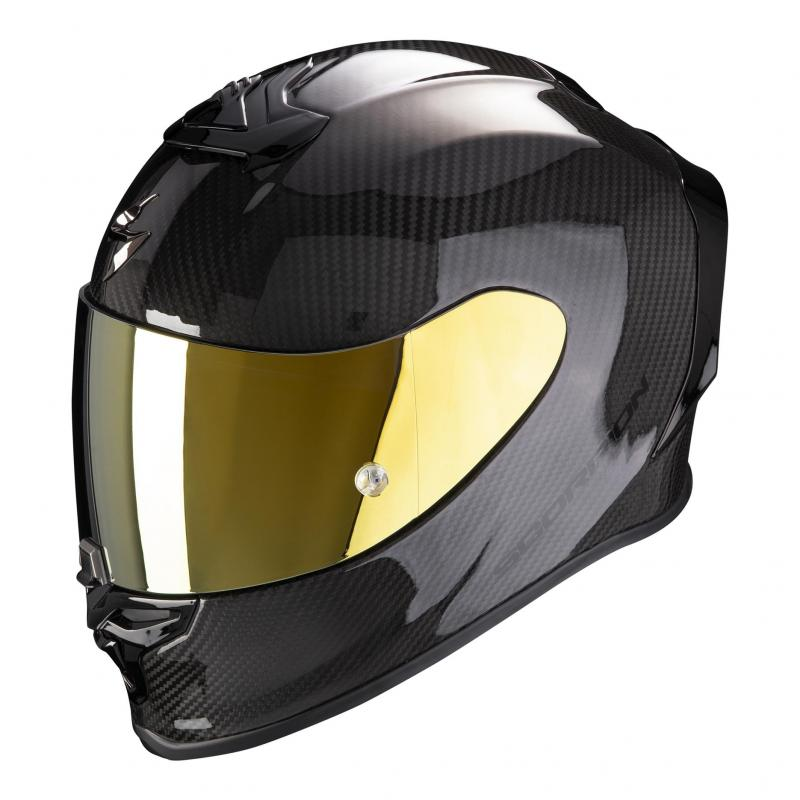 Casque intégral Scorpion Exo-R1 Carbon Air Solid noir