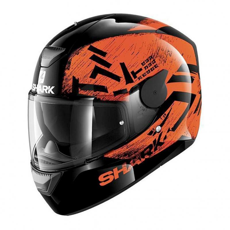 Casque intégral Shark D-SKWAL HIWO noir/orange/noir