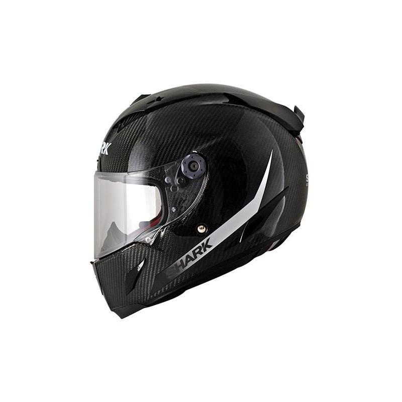 Casque Intégral SHARK Race-R Pro Carbon Skin Carbone noir/blanc