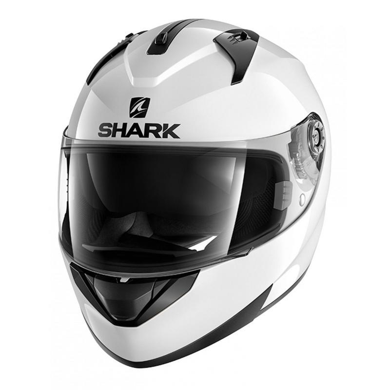 Casque intégral Shark RIDILL BLANK blanc