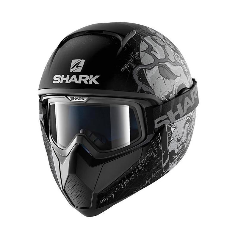 Casque intégral Shark VANCORE ASHTAN Mat noir/argent/anthracite