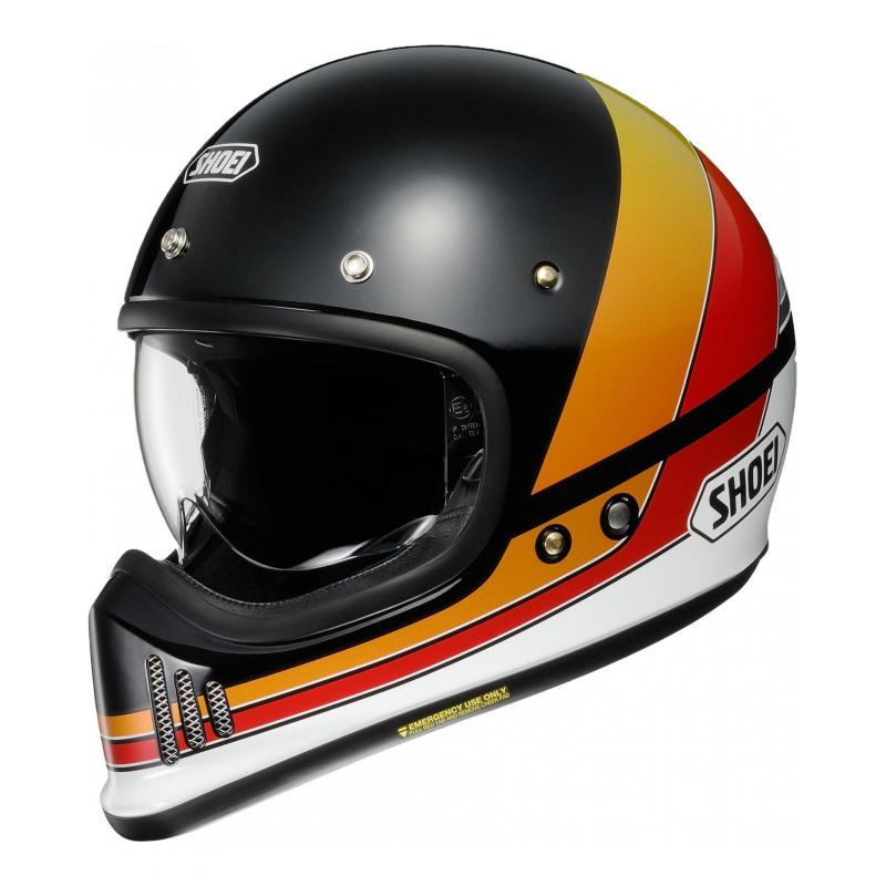Casque intégral Shoei EX-Zero Equation TC-10 noir/orange/rouge/blanc