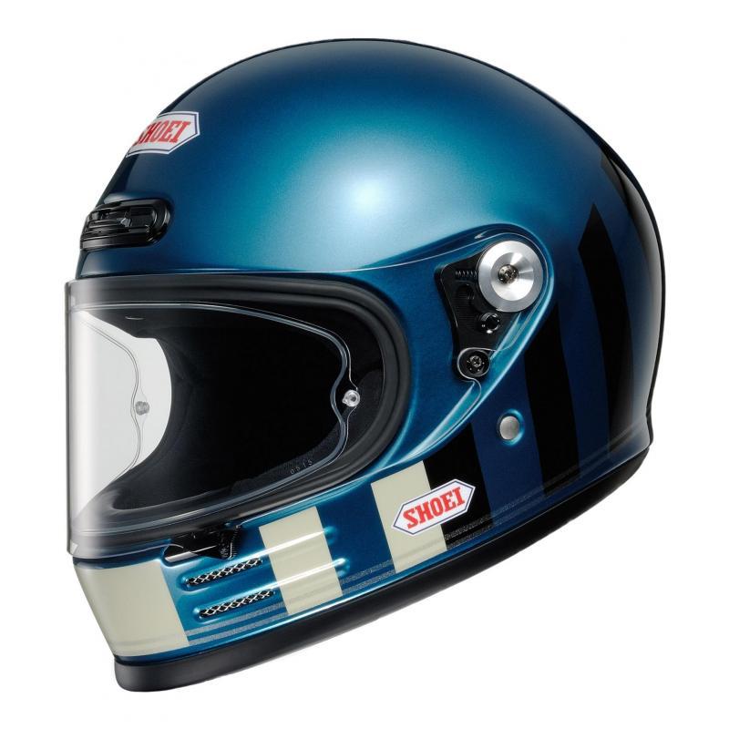 Casque intégral Shoei Glamster Ressurection TC-2 bleu/noir/beige