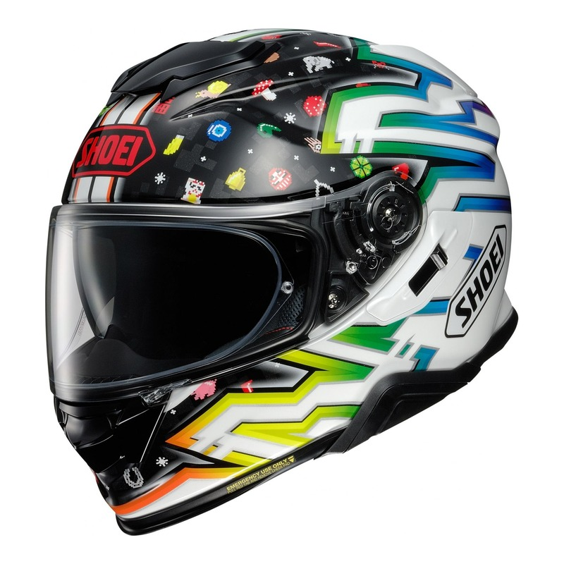 Casque intégral Shoei GT-Air II Lucky Charms TC-10 multicolore
