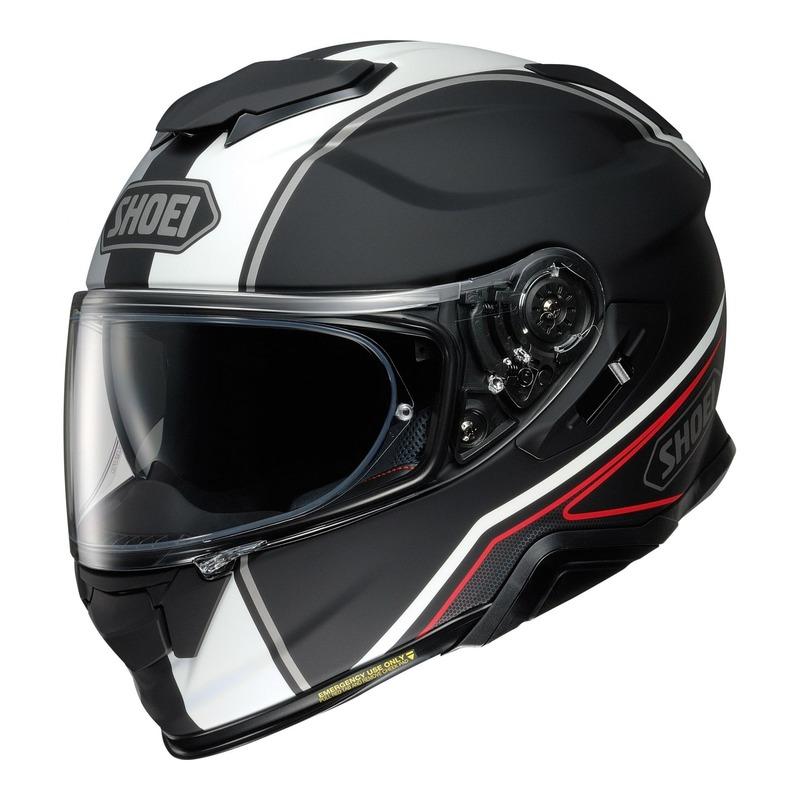 Casque intégral Shoei GT-Air II Panorama TC-5 Mat noir/blanc/rouge
