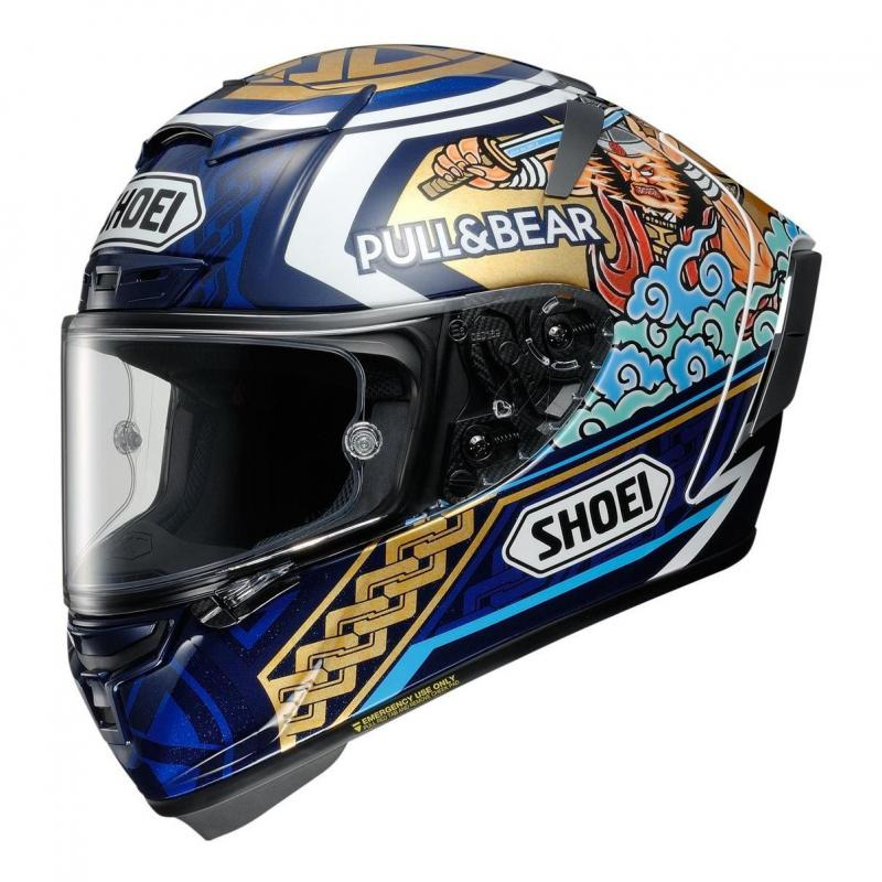 Casque intégral Shoei X-Spirit III Motegi 3 TC-2 multicolore