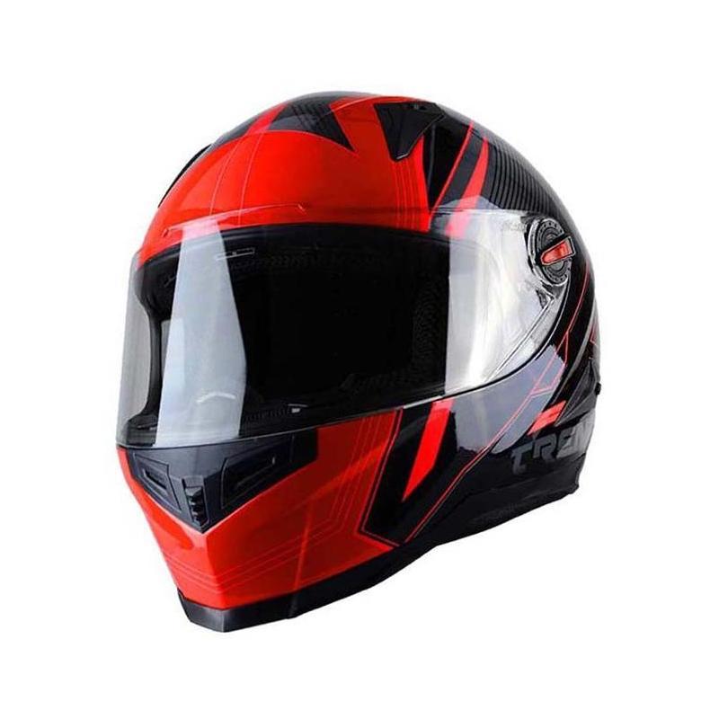 Casque intégral Trendy T-501 Stealth noir / rouge