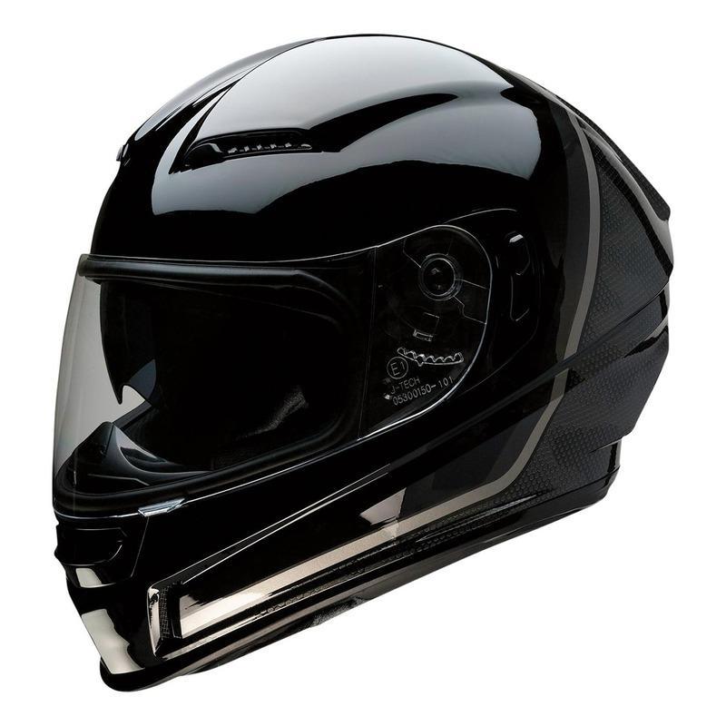 Casque intégral Z1R Jackal Kuda noir/gris brillant