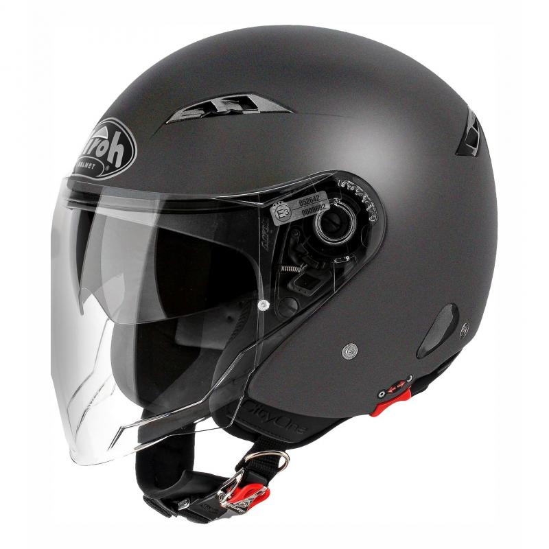 Casque jet Airoh City One Color anthracite