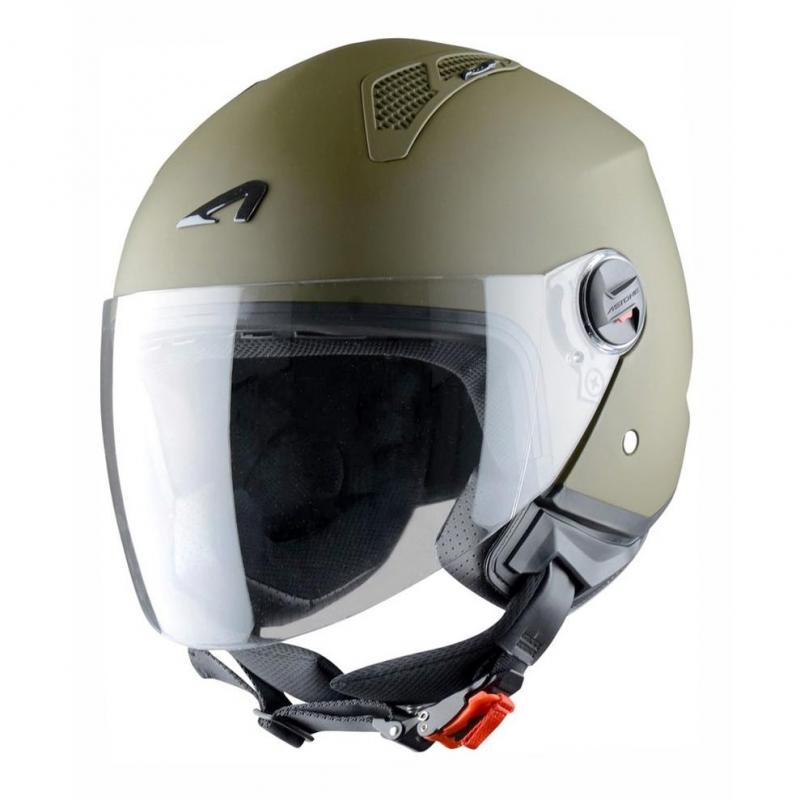 Casque Jet Astone Minijet Monocolor Army