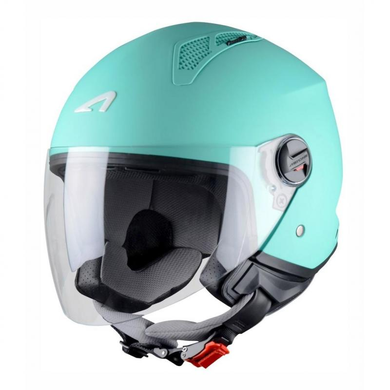 Casque Jet Astone Minijet Monocolor Mint