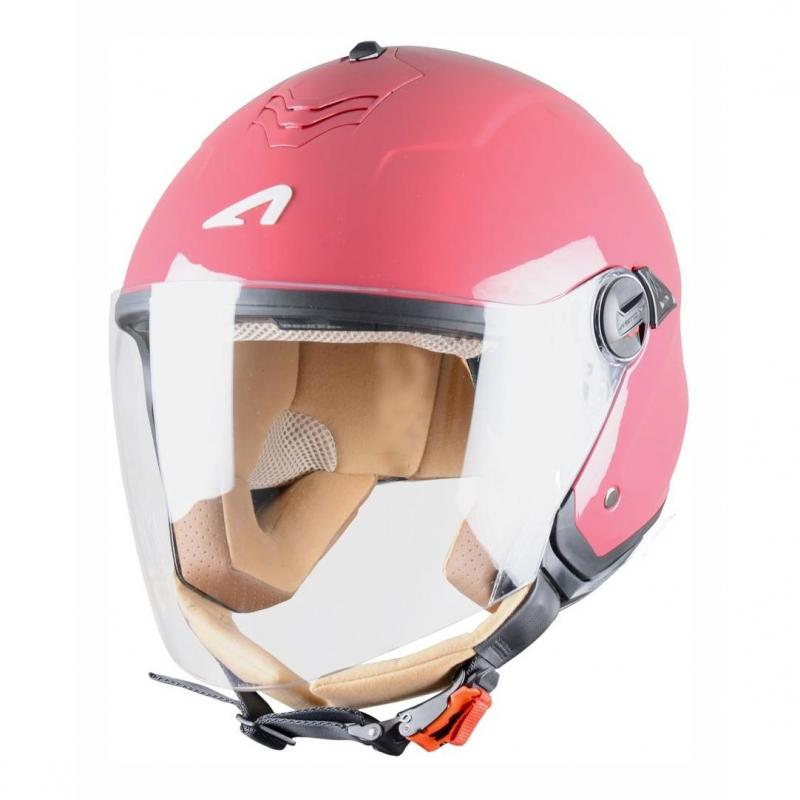Casque Jet Astone Minijet S Monocolor Cherry