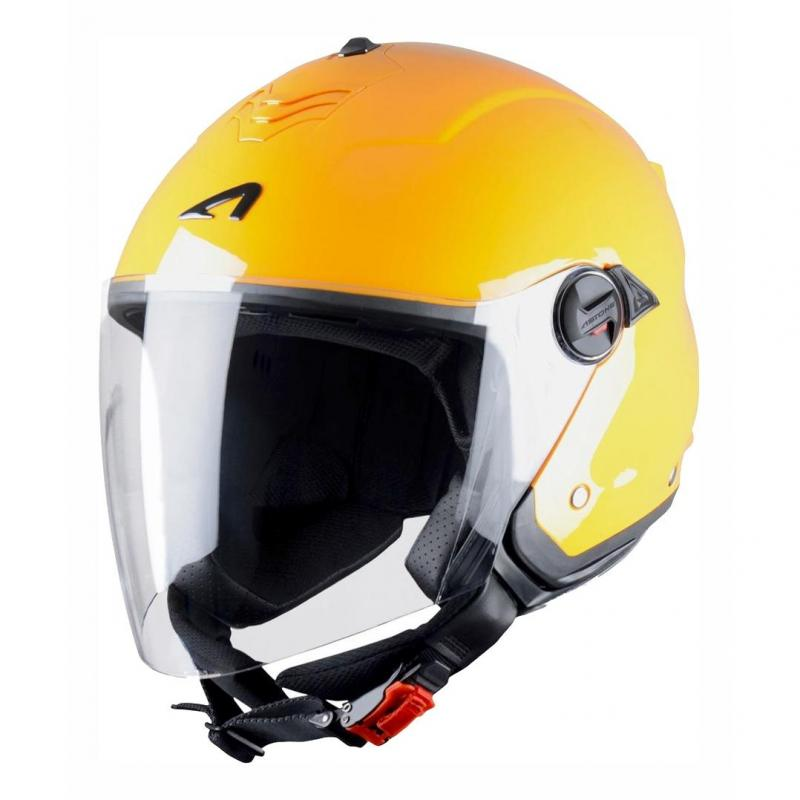 Casque Jet Astone Minijet S Monocolor orange