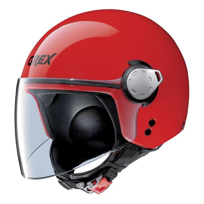 Casque jet Grex G3.1E Kinetic Corsa rouge