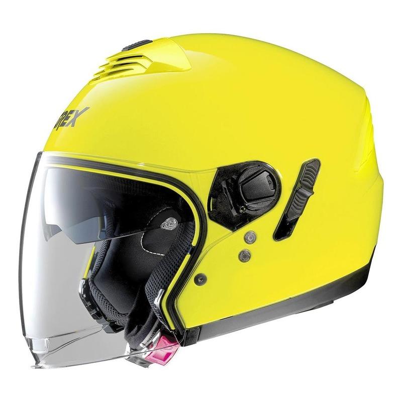Casque jet Grex G4.1E Kinetic Led jaune