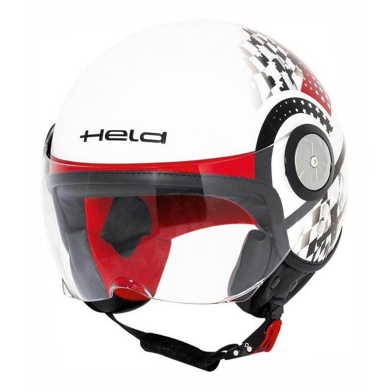 Casque jet Held MC CORRY déco