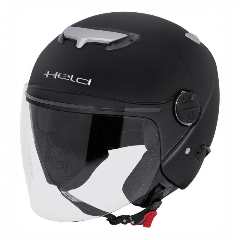 Casque jet Held TOP SPOT noir mat