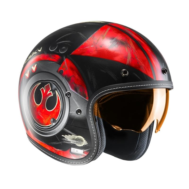Casque jet HJC FG-70s POE DAMERON STAR WARS MC1SF