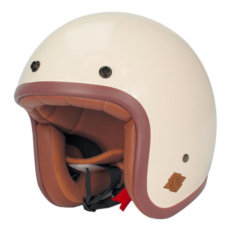 Casque Jet Noend Tribute Archive blanc