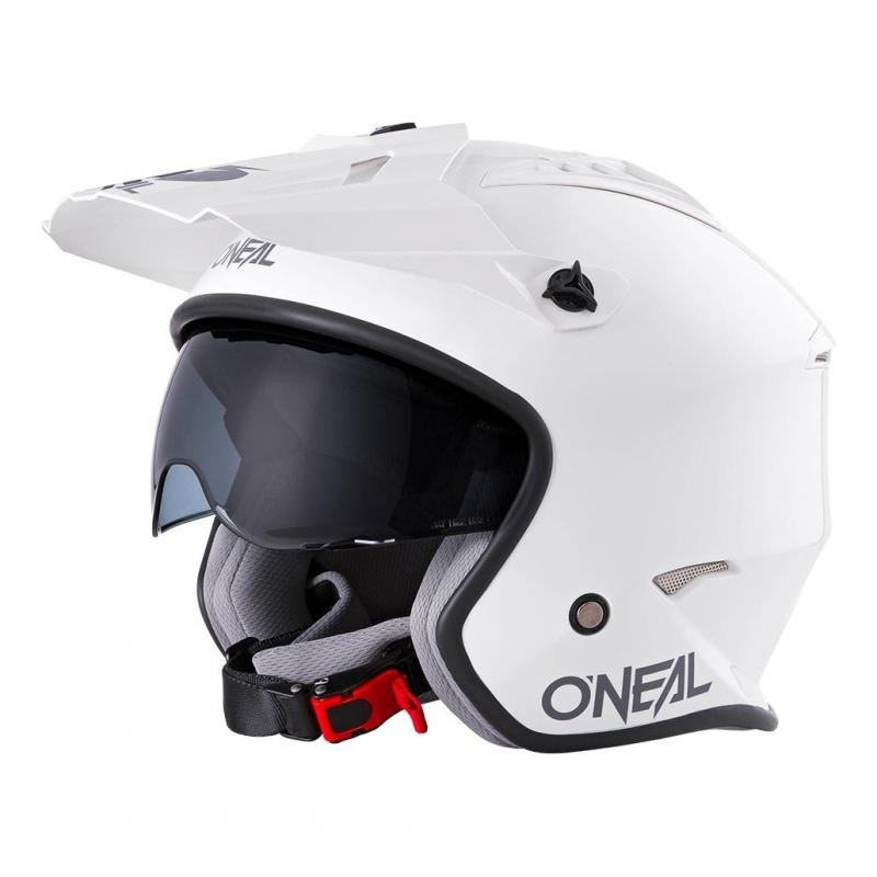 Casque jet O'Neal Volt Solid blanc