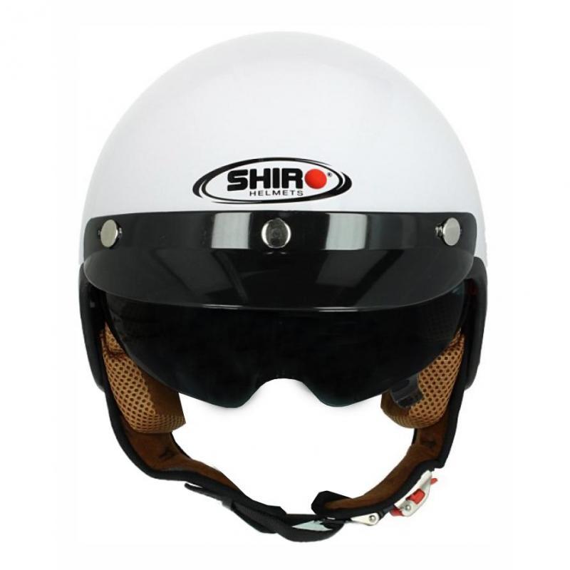 Casque jet Shiro SH 206 blanc