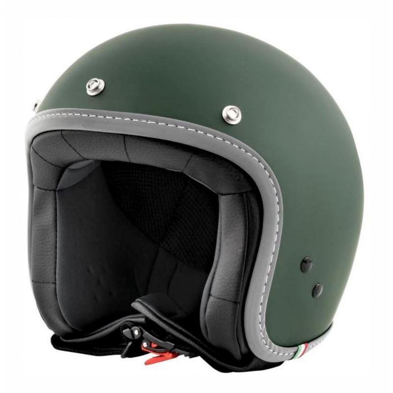 Casque jet Vespa Colors vert