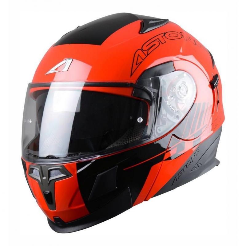 Casque Modulable Astone Rt 1000 Graphic Exclusive Arko noir/rouge