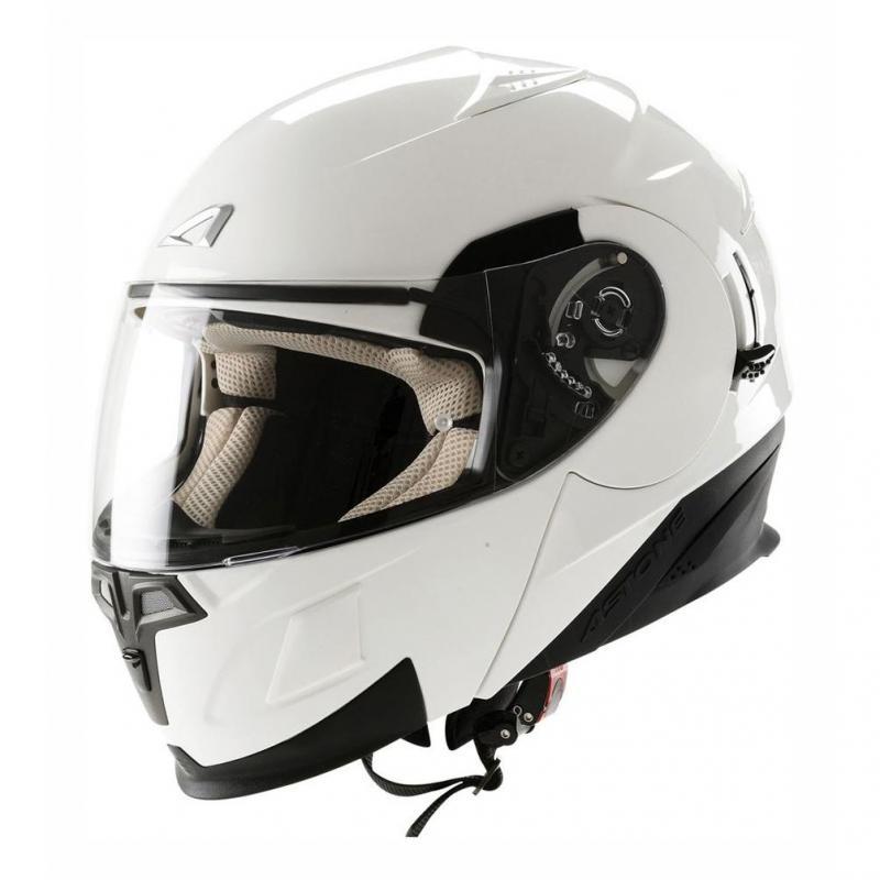 Casque Modulable Astone Rt 1000 Mono blanc