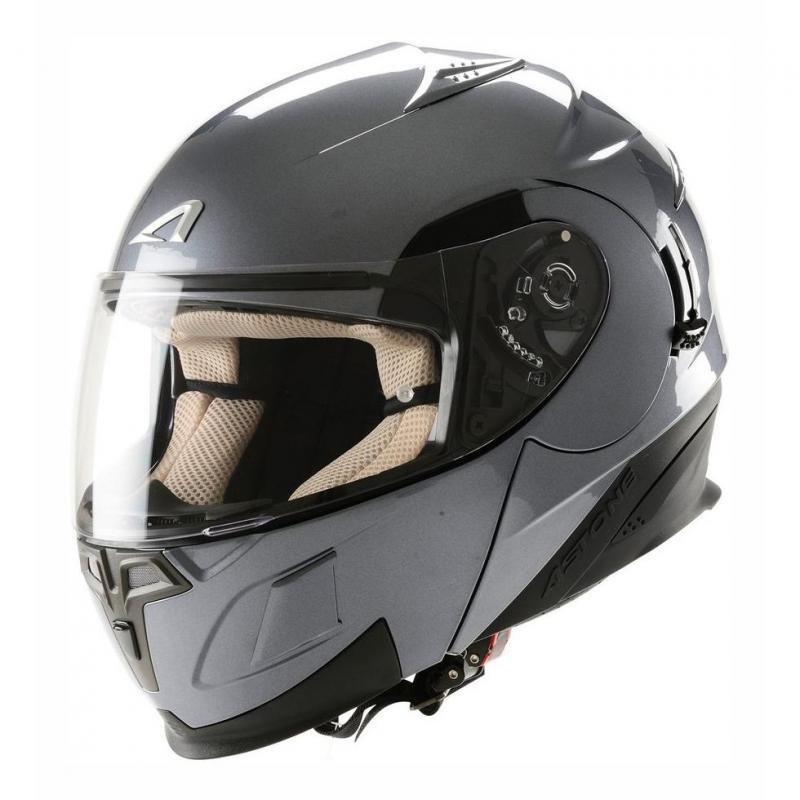 Casque Modulable Astone Rt 1000 Mono titanium