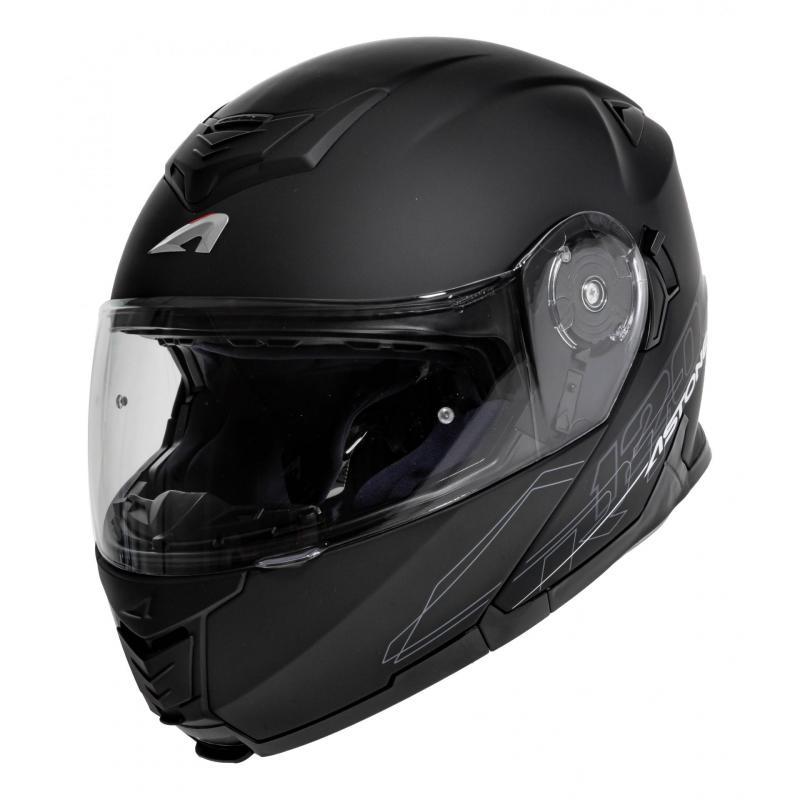 Casque Modulable Astone Rt 1200 Mono noir mat