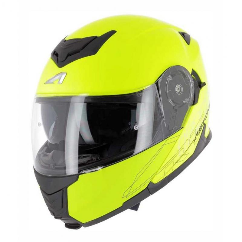 Casque modulable Astone RT1200 neon jaune