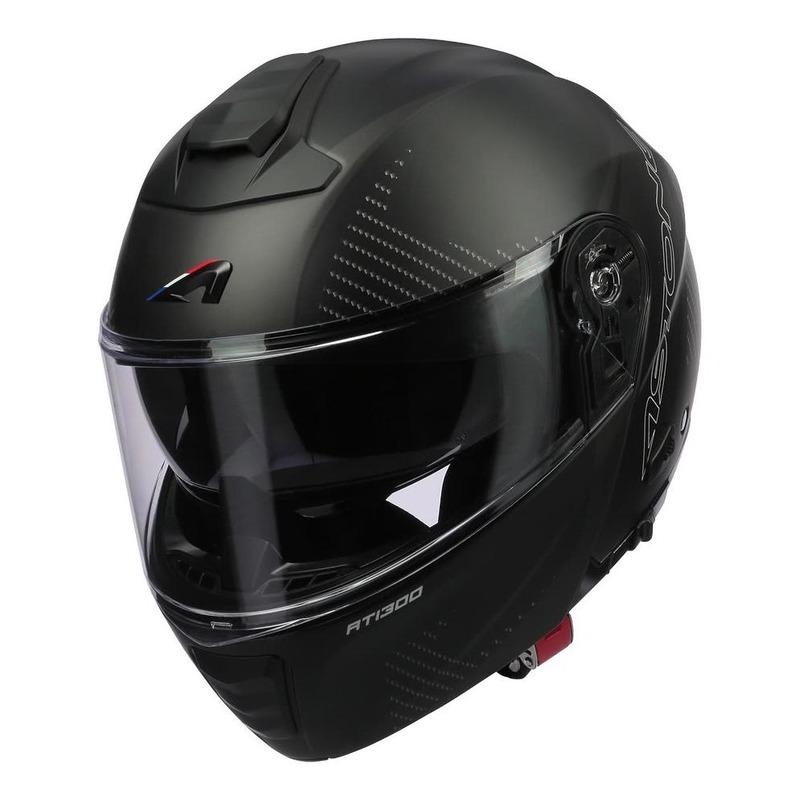 Casque modulable Astone RT1300F noir carbone/noir mat